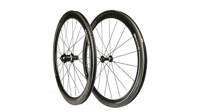 The AMP 50 wheelset.