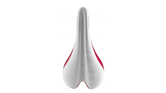 The Fizik Aliante Versus in white and red