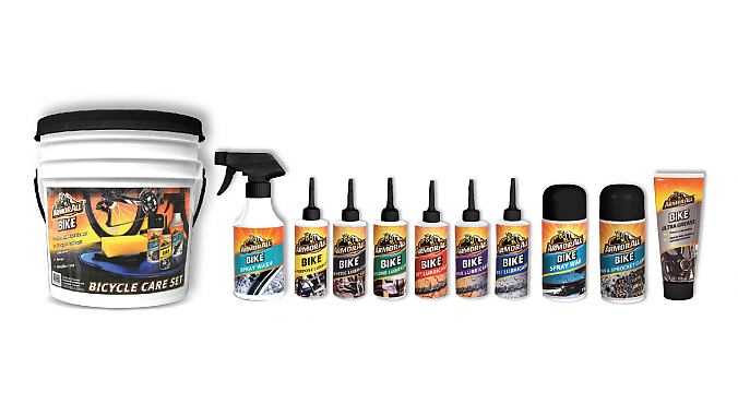 Photo: Auto cleaner brand Armor All is introducing a line of bicycle cleaners and lubricants.