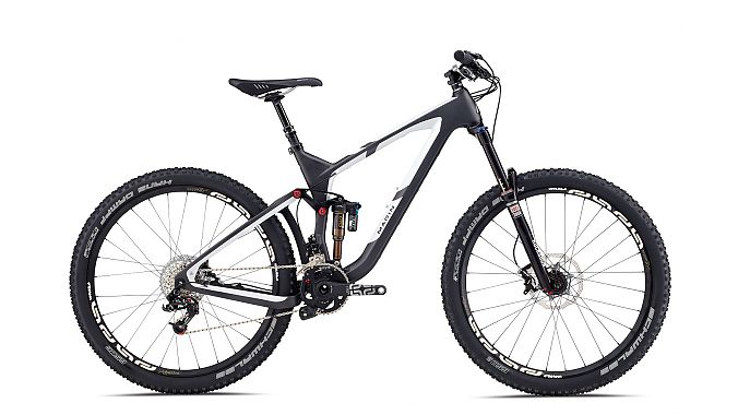 The Attack Trail is one of two new suspension models designed around 27.5-inch wheels.