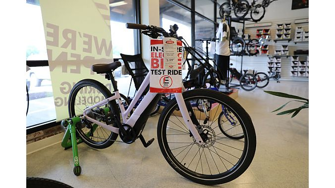 Eric's does a growing business with e-bikes.