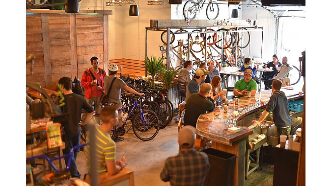 The HandleBar Café serves breakfast, lunch, dinner, beer, coffee and cocktails seven days a week.