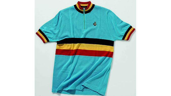 Belgium team jersey by De Marchi