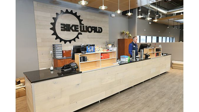 Bike World Iowa operates three stores and employs 30 people full time.