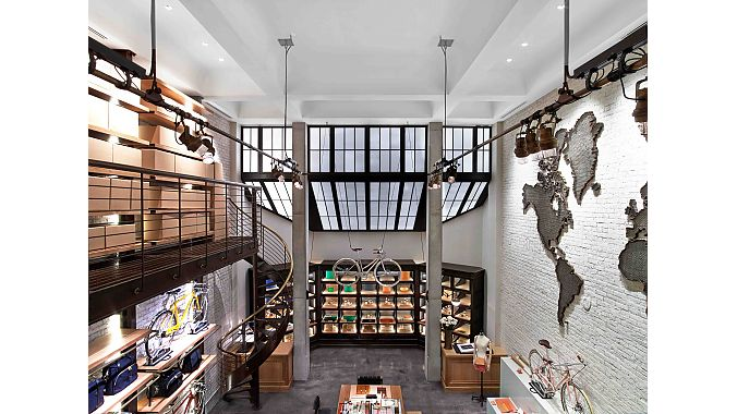 A bird's eye view of Shinola Tribeca