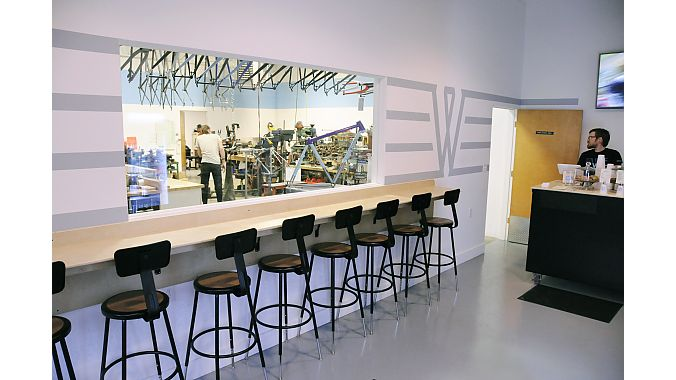 Breadwinner Cycles recently opened a cafe and retail space in its building in North Portland.