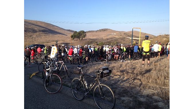 Friends and family recalled Robinson at a mid-ride memorial.