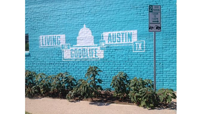 Civic pride abounds throughout the Texas capital.