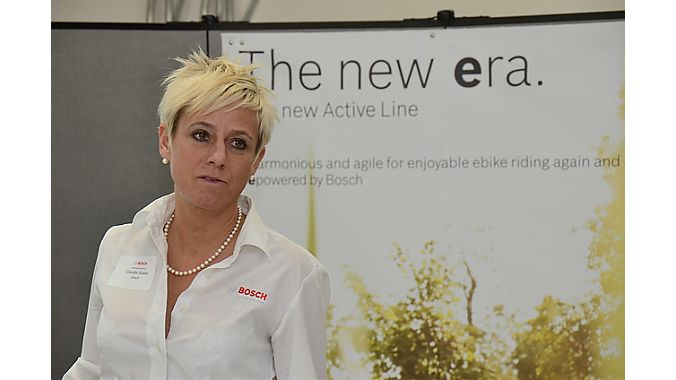 Claudia Wasko is heading up the U.S. e-bike business for Bosch