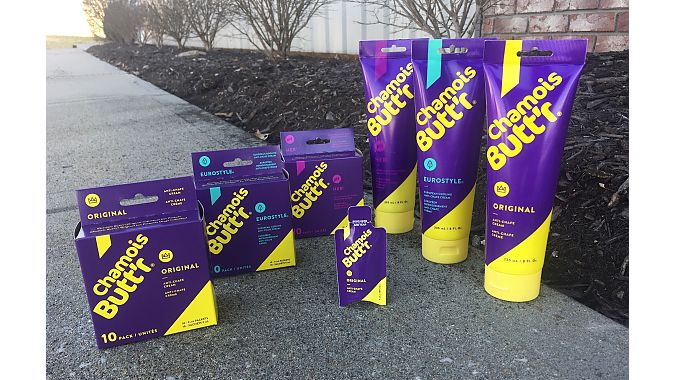 Chamois Butt'r unveils new product packaging