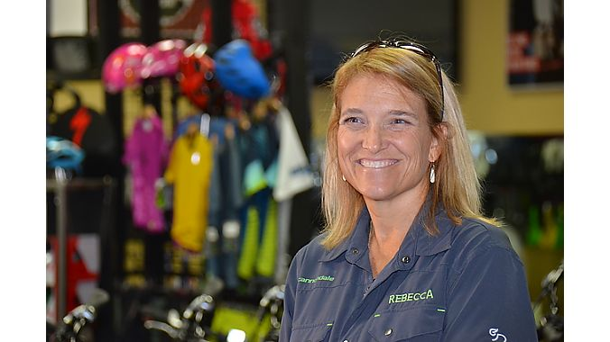 "Current store manager Rebecca Everling has worked at Cycle Center for 20 years. A former track racer, Everling also teaches cycling classes at the University of South Carolina in Columbia. Everling and her husband, Derek, now work in the same store alongside owner John Green. ""When we closed our store two years ago, we all came into the same store, and it's been a little bit challenging to have three big heads under one roof,"" Everling said. ""But it's also been a huge asset in the long run."""