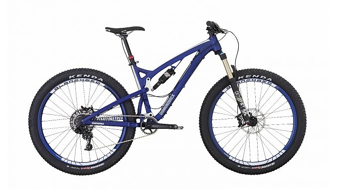 The 27.5-plus Catch 2 features Diamondback's new Level Link suspension and retails for $3,500.