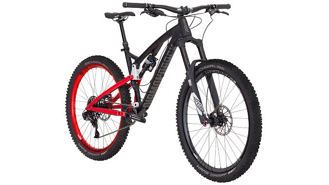 The Release 3 27.5-inch trail bike has 150 millimeters of front and rear travel and is spec'd with a RockShox Pike RCT3 fork and Monarch Plus RC3 DebonAir rear shock, SRAM X1 drivetrain and SRAM Guide brakes. It will retail for $3,900.