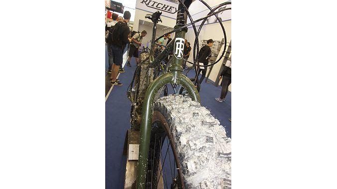 Ritchey unveiled its first fat bike at Eurobike.