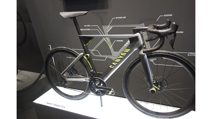 From a glance, the bike appears fairly normal. Much of the (conceptual) technology is hidden.