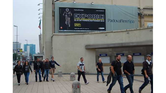 The ExpoBici show in Padua, Italy, outside of Venice closed on Monday after a four-day run. Consumers are invited for the demo day and the first two days of the show with the last day reserved for trade visitors.
