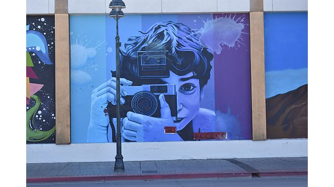 Street art and murals cover nearly every public wall in downtown and Midtown Reno.