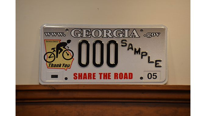 Intown displayed a way to support cycling in Georgia.