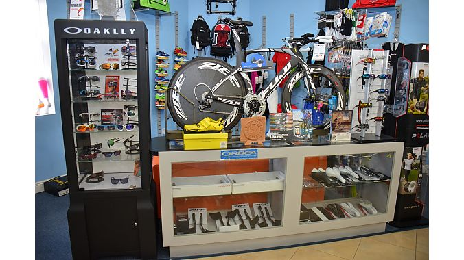 Like so many of Miami's specialty retailers, around 60 percent of Swim Bike and Run's clientele comes from Latin America--specifically from Brazil--to buy products at a third of the price.