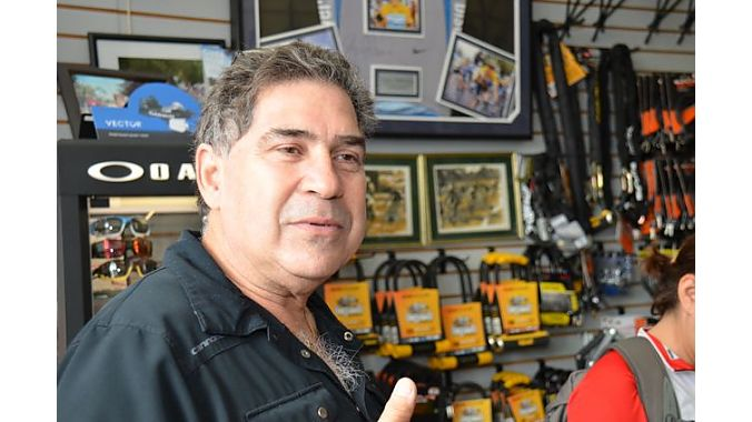 "Jack Ruiz grew up in the business, opening Miami Beach Bicycle Center when he was 19 years old. The former road racer hopes to keep the business--around since 1977-- in the family with sons Danny and Alex taking over the shop. ""I'd like to slow down and ride my bike more, spend more time with my grandson,"" he said."