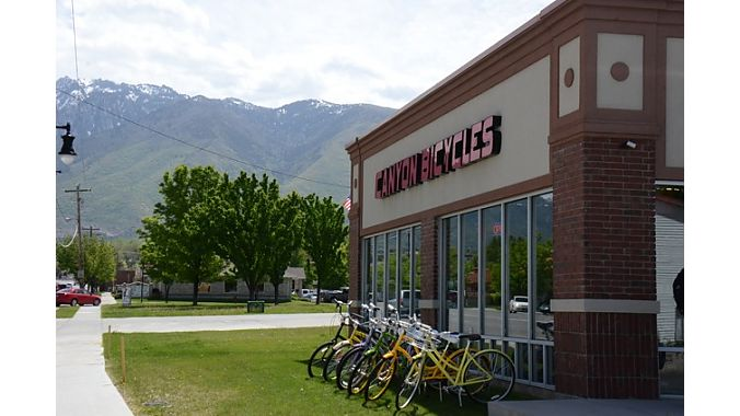 Canyon Bicycles has served the south Salt Lake area for 20 years. Owner Mike Prett moved and expanded the original store to its current location in Draper 10 years ago, gaining several thousand square feet and easier access for its broad customer base. Store manager David Saenz said the Draper store is a hotbed for all categories, with the market split between mountain, road and lifestyle. The Specialized and Trek dealer has a sizable apparel selection and a designated women's section with bikes, accessorie