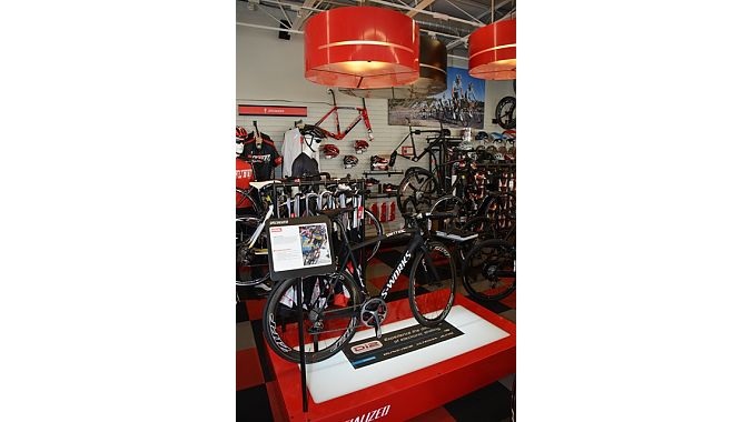 Canyon manages to keep Trek and Specialized happy on the sales floor.