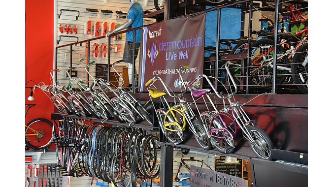 The store has a complete collection of Schwinn Crates.
