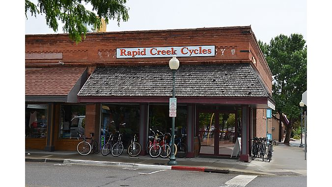 In its short history, Rapid Creek has been in three locations on the same intersection in downtown Palisade.