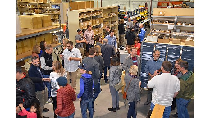 Local manufacturer MRP hosted a Dealer Tour reception Thursday for local retailers and other community members.
