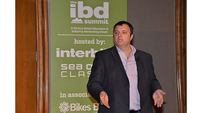 Craig LaRosa of consulting firm Continuum offers advice on how brick-and-mortar retailers can steal customers away from Amazon during the IBD Summit, presented by Interbike and the Sea Otter Classic.