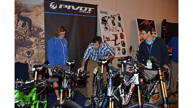 Pivot Cycles was one of a dozen-plus sponsoring exhibitors at the IBD Summit.
