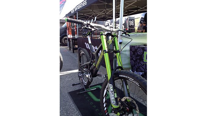 DVO Suspension Emerald inverted DH fork