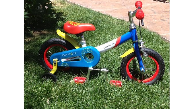 Dahon's new balance bike includes an encased drivetrain and easily mounted cranks to grow with riding ability.