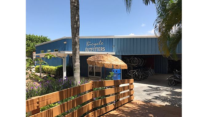 Sanborn bought Bicycle Outfitters in Seminole and reopened it David's World Cycle.