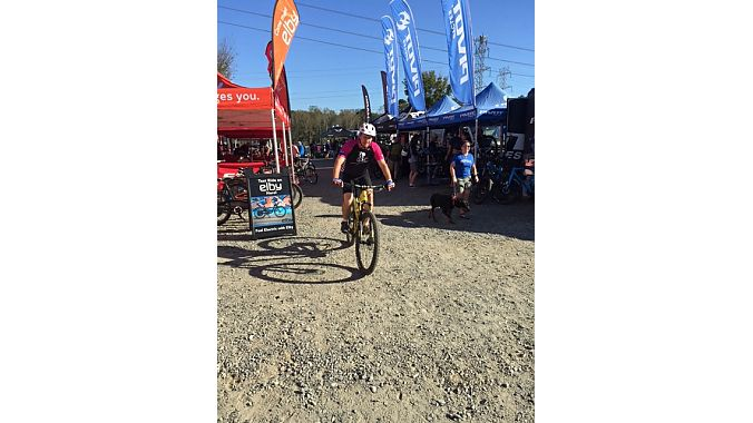 CycloFest's exhibitors included about 20 bike brands sending out demos on the U.S. National Whitewater Center's trail system and surrounding roads.