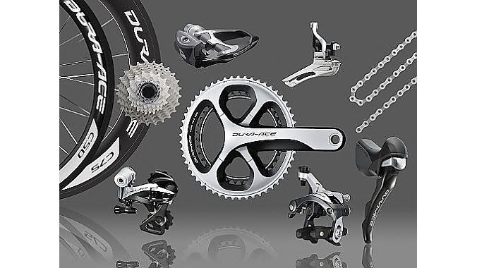 Shimano updated its non-electric Dura-Ace group to 11 speeds in 2012