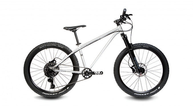 The Early Rider T24 Works Edition aluminum hardtail is outfitted with a mix of SRAM and Ritchey components and lightweight Maxxis trail tires. It retails for $1,299.