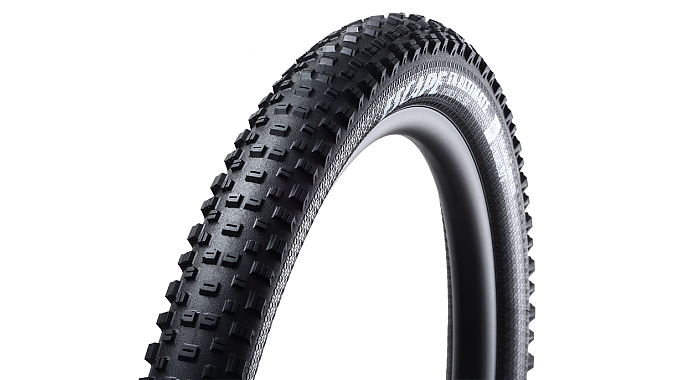 All of Goodyear's mountain bike tires, including the Escape trail tire, feature siping on every knob.