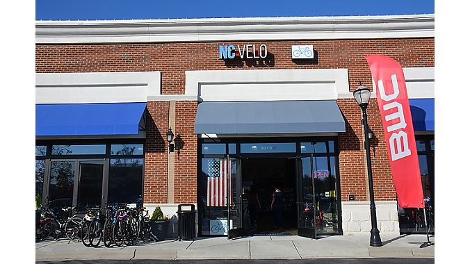 NC Velo owners Kyle and Jay Wyatt plan to hold Computrainer classes and clinics to help bring people into the store during winter months.