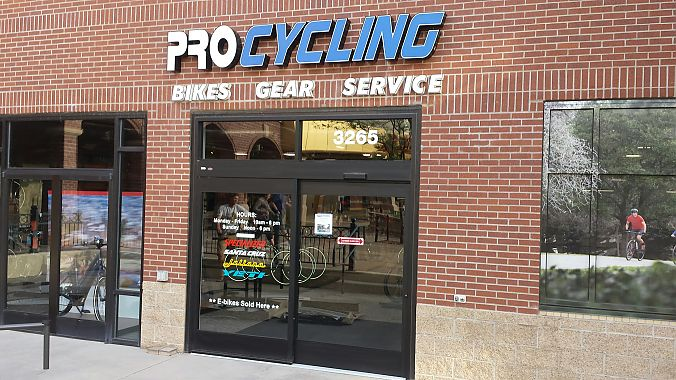 Pro Cycling's new second location is located in East Colorado Springs.