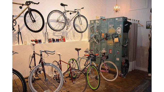 Fast Folks carries Pure Fix, State Bicycle and local Austin favorite Fairdale. The shop also has a full service department, but bike and accessory sales are its bread and butter.