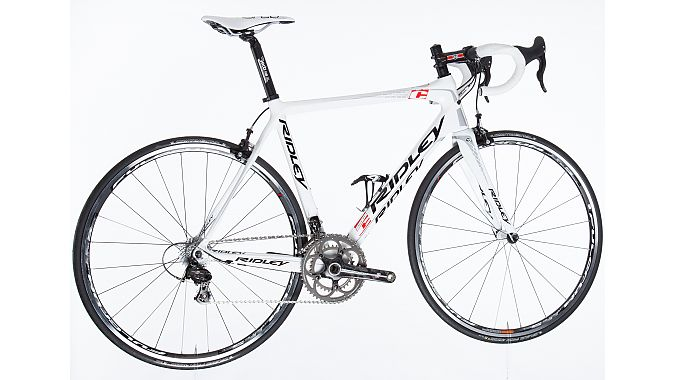Ridley's limited-edition team Lotto-Belisol Fenix road bike commemorating the 100th Tour de France