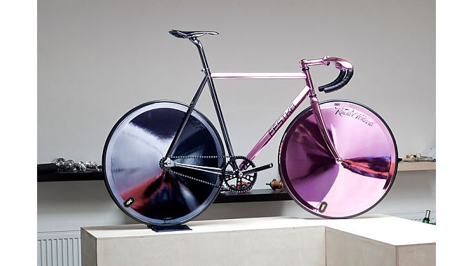 Limited-edition Motol Chrom track bike