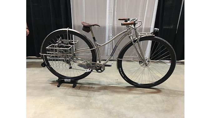 This 36-inch wheel mountain bike from Black Sheep to the Artisan Award, which is given to a bike with an unusual degree of in-house fabrication.