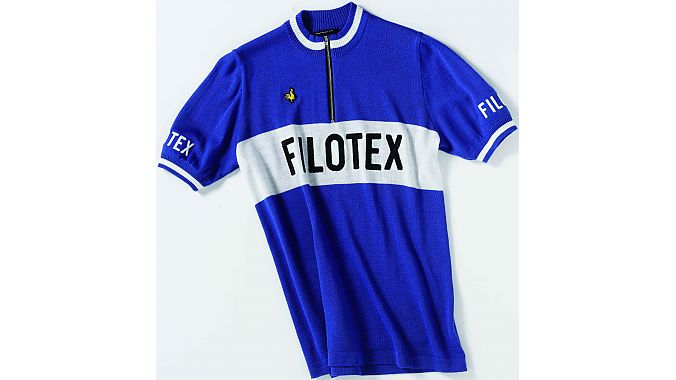 Filotex team jersey by De Marchi