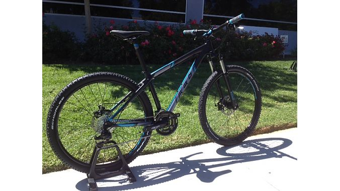 New Fit Woman aluminum hardtail