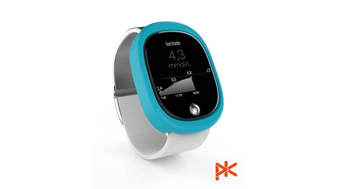 The K'Track L is a lactate-measuring wrist device.