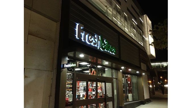 Fresh Bikes' new location in Fairfax, Virginia. Courtesy photo.