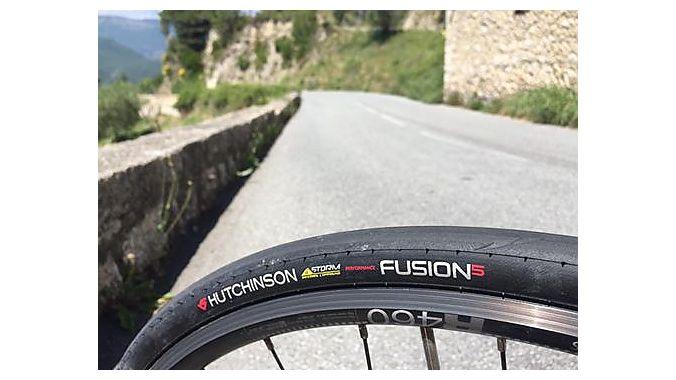 Hutchinson's Fusion 5 ElevenStorm Performance tubeless-ready models are available at retail now for $86.99.
