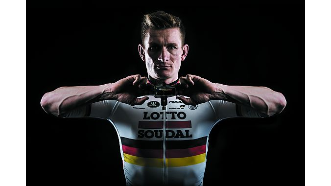 Andre Greipel with the Keo Blade Carbon Ti.
